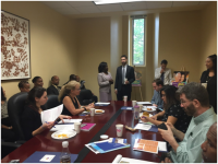 November 3, 2016 briefing with Ward 6 Councilmember Charles Allen for DC Council staff