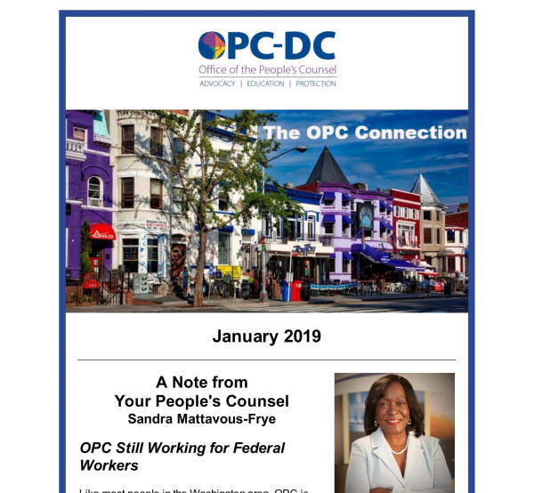 The OPC Connection - January 2019