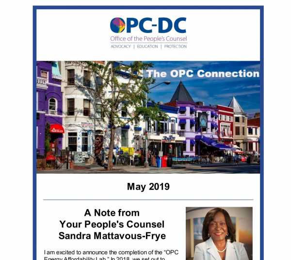 The OPC Connection - May 2019