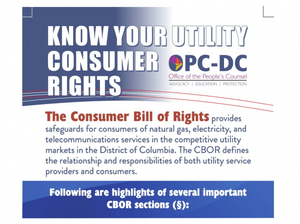 Know your utility consumer rights
